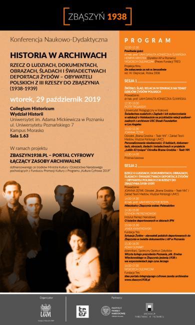 Konferencja HISTORIA W ARCHIWACH